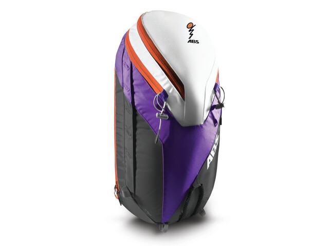 ABS Powder Zip-On 26 - Sac avalanche - gris/violet